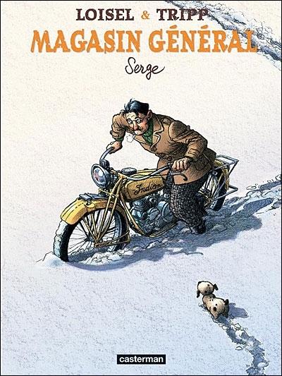 Livre : BD Serge, magasin général