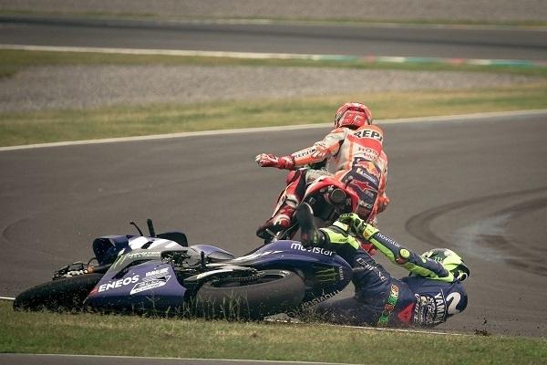 MotoGP - Argentine J.3 Márquez: «contre Rossi je n'ai rien fait de mal»
