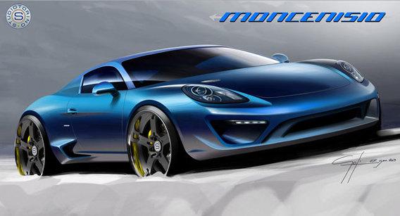 Porsche Cayman S Moncenisio: seulement 20 ex. et 135 k€ l'opération