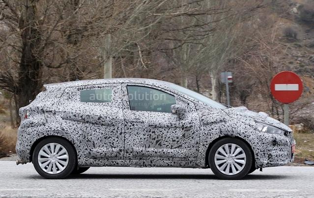 Nissan : la nouvelle Micra se promène
