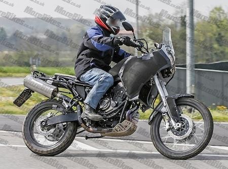 Photos volées: Yamaha MT-07 façon Ténéré cette fois