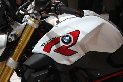En direct d'Intermot - BMW R1200 R : la fin du Telelever