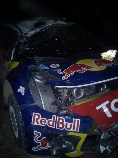 WRC Portugal Jour 1 : Latvala mène, Loeb se crashe