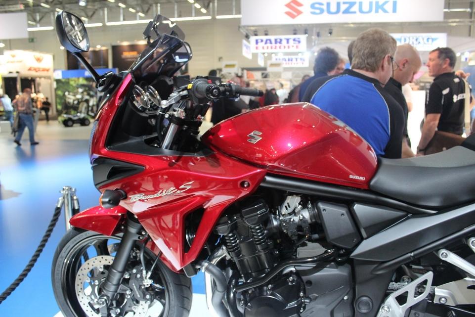 En direct d'Intermot : Suzuki Bandit 1250 SA