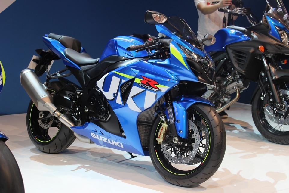 En direct d'Intermot : Suzuki GSX-R 1000 ABS
