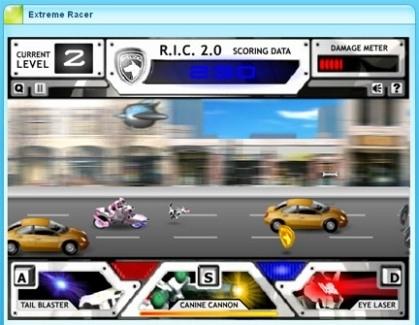Jeu Online : Extrême Racer