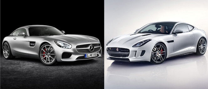Match du Mondial : Mercedes AMG GT S ou Jaguar F-Type R ?