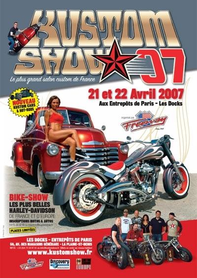 Kustom Show 2007 : Rendez-vous le 21 et 22 Avril