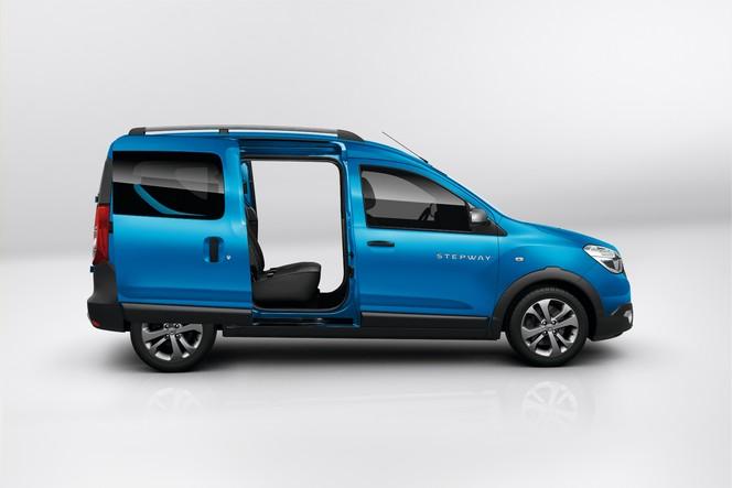 Salon de Paris 2014 - Dacia Dokker Stepway: baroudeur