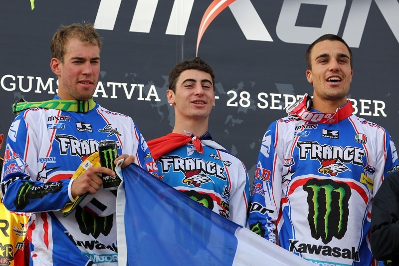 Motocross des Nations 2014  : La France l'emporte !!
