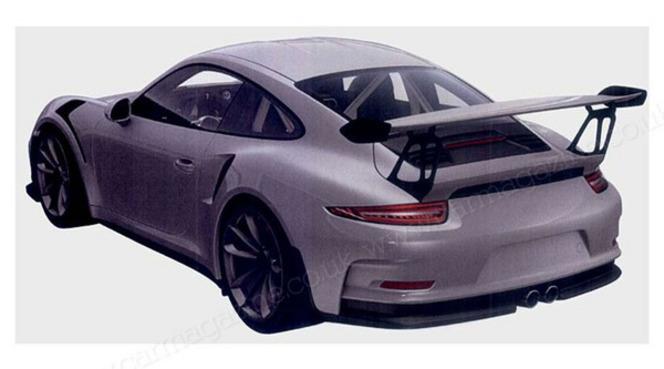 Salon de Paris 2014 - Porsche 911 GT3 RS: extrême