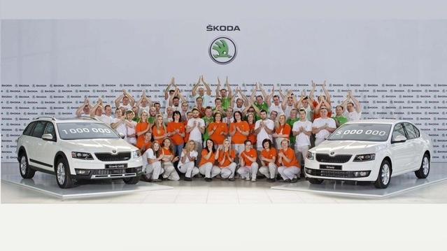 Skoda Octavia 3 : déjà 1 million d'exemplaires produits