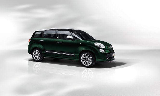 Nouveau Fiat 500L Living, la longue longue