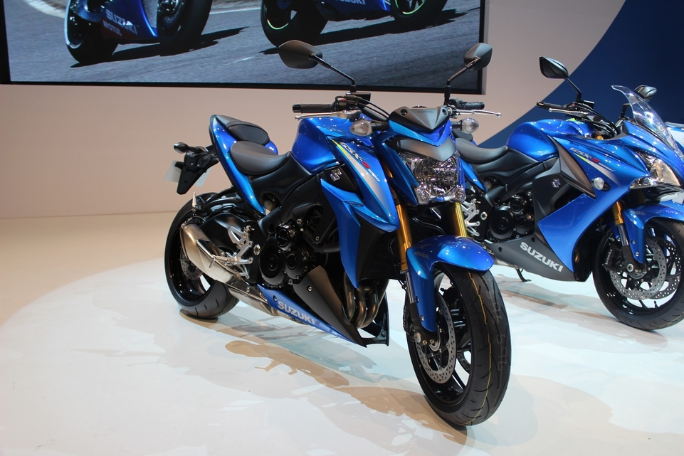 En direct d'Intermot : Suzuki GSX-S 1000