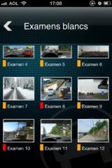 Test : préparer son code sur iPhone avec Code de la route deluxe 2012