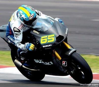 Moto GP - Suzuki: La GSV-R tire un poil court