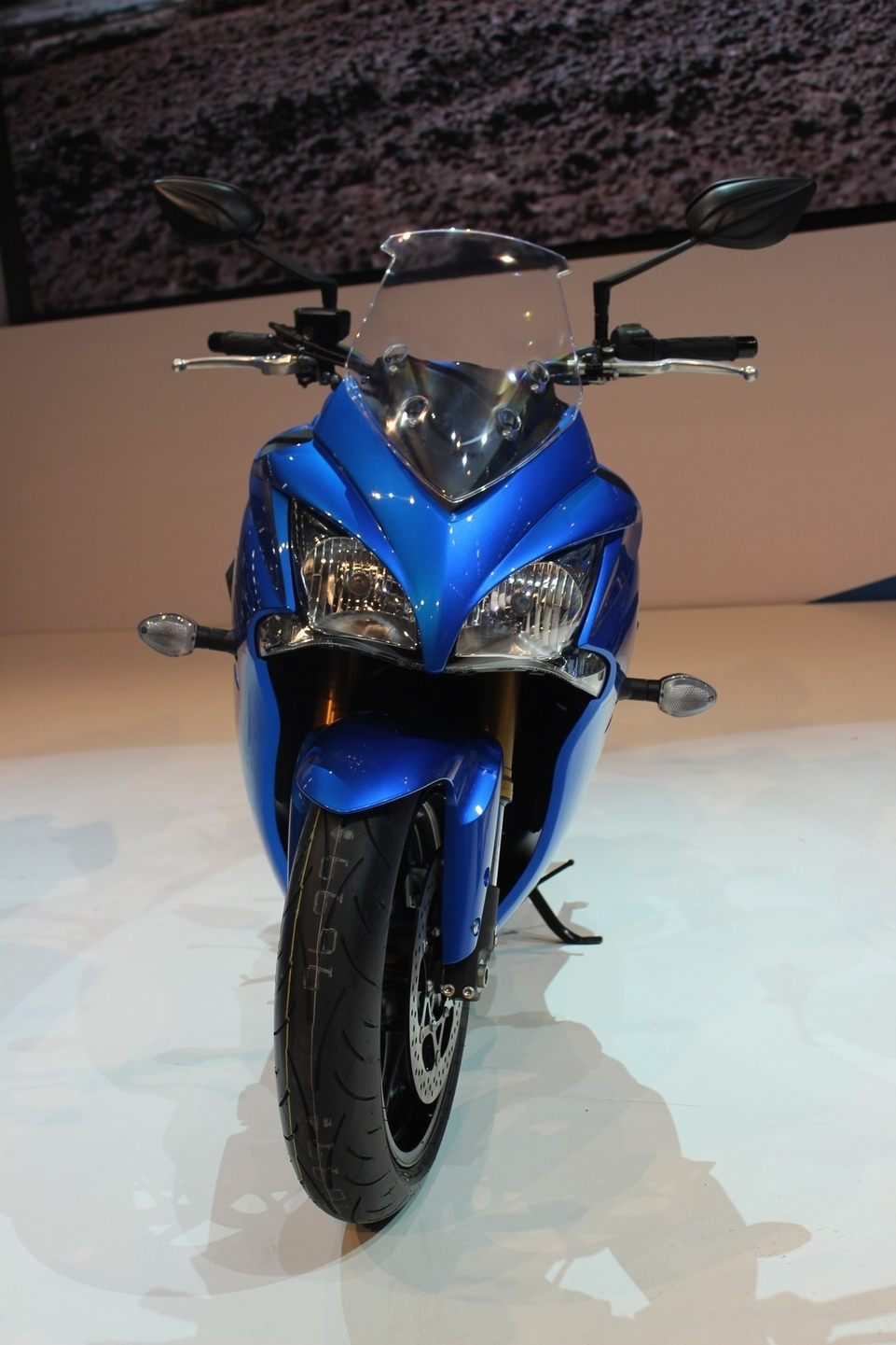 En direct d'Intermot : Suzuki GSX-S 1000 F