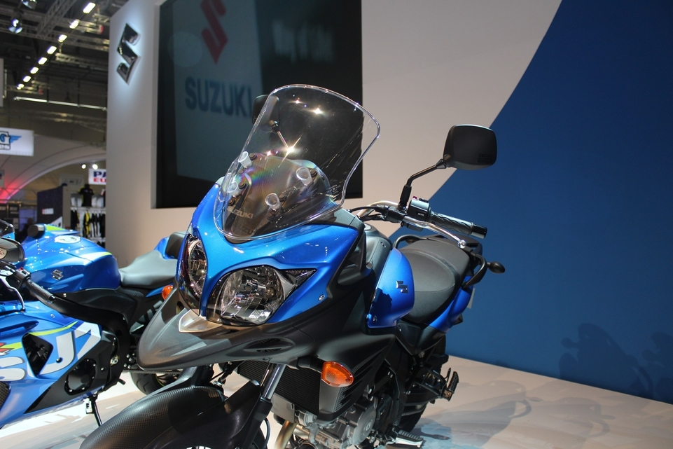 En direct d'Intermot : Suzuki V-Strom XT ABS