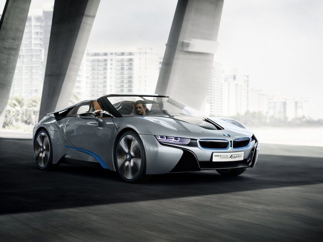 Salon de Pékin - BMW i8 Spyder Concept