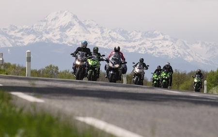 Balade moto: Les Cols Verts selon Kawasaki