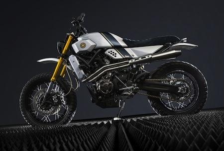 Yamaha Yard Build: style Traker pour la XSR700 signée Bunker Custom Motorcycles