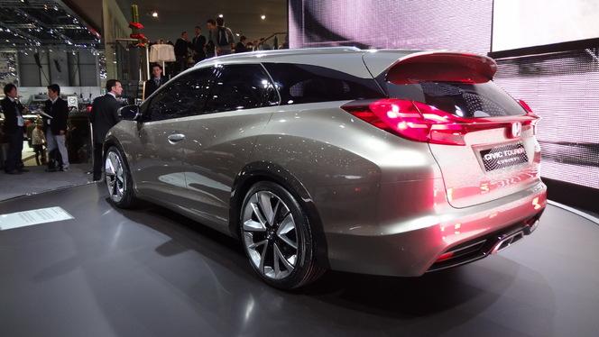 Futur Honda Civic Tourer : plus de coffre qu'une Skoda Octavia Combi
