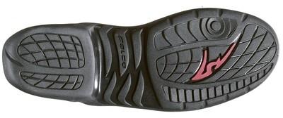 Falco propose pour 2009 une botte racing à protection articulée: l'ESO LX.