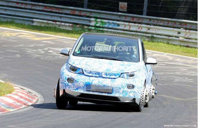 Surprise : la BMW i3 à l'attaque sur le Nürburgring