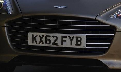 L'Aston Martin Rapide