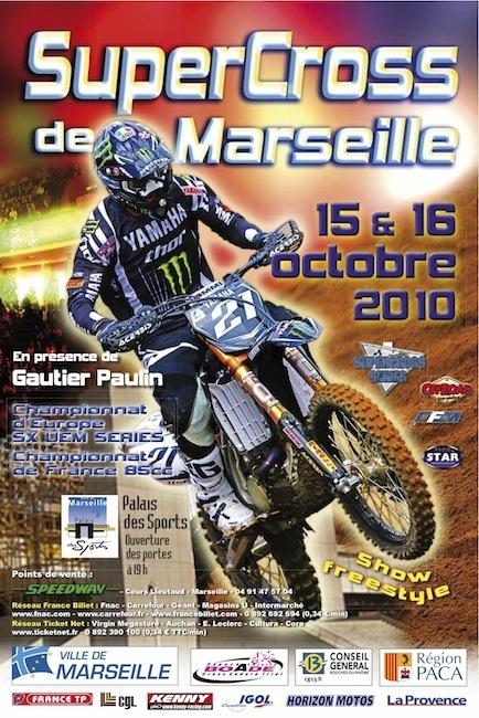 Supercross de Marseille : le championnat d'Europe reprend ses droits ce week-end