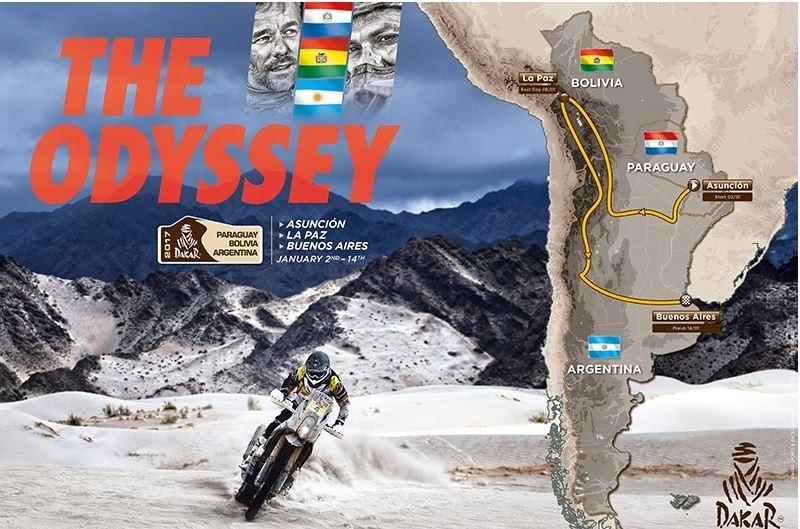 Dakar 2017 : d'Asunción à Buenos Aires en passant par La Paz