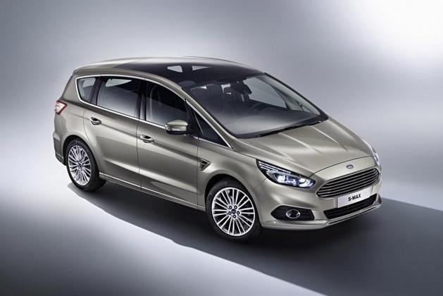 Mondial 2014 : le nouveau Ford S-MAX se montre
