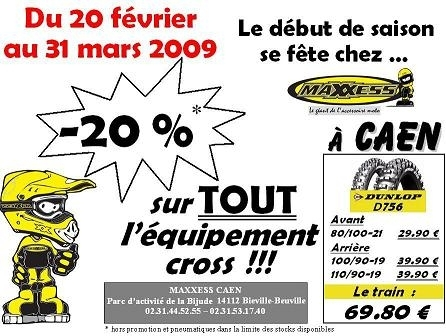 "Des prix ""cross"" chez Maxxess à Caen"
