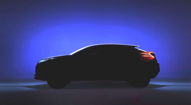 Toyota : C-HR, le crossover hybride en concept