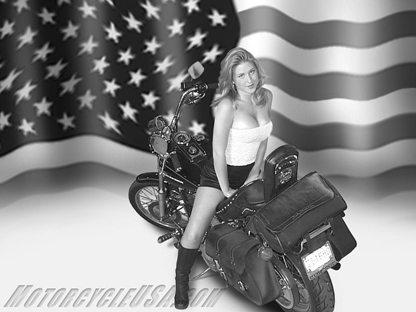 Moto & Sexy : être patriote