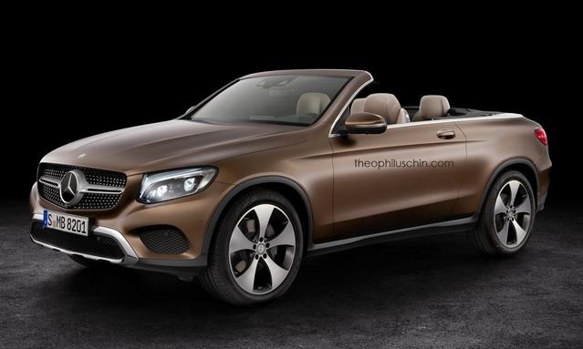Mercedes partant pour décapsuler le GLC Coupé