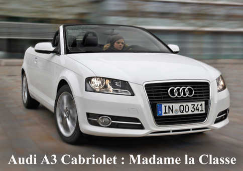 comparatif cabriolets compacts audi a3 cabriolet. Black Bedroom Furniture Sets. Home Design Ideas