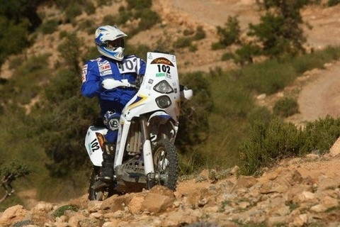 Africa Eco Race étape 1: Nador/ Borj Frissate.