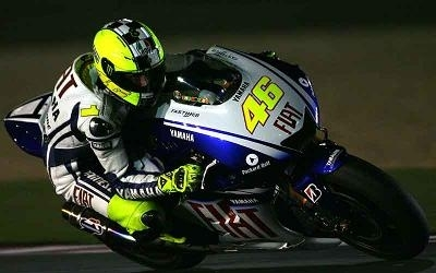 Moto GP - Yamaha: Rossi visera un podium au Qatar