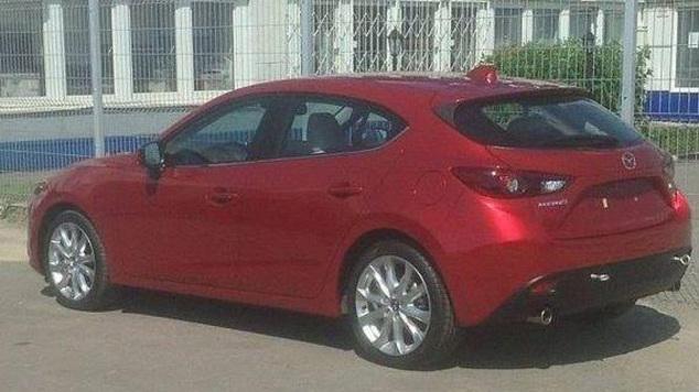 La nouvelle Mazda 3 encore en fuite