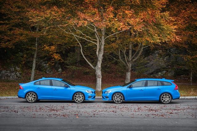 Volvo dévoile les V60 et S60 Polestar