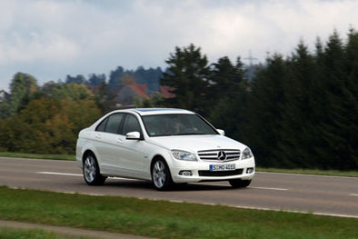 Essai - Mercedes Classe C 250 CDI Blue Efficiency : blue touch