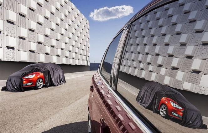 Ford : le C-Max restylé lève une partie du voile