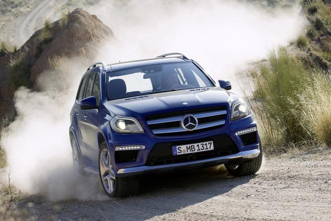 New York 2012 : le nouveau Mercedes GL déjà là