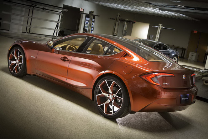 New York 2012 : la Fisker Atlantic de plus près