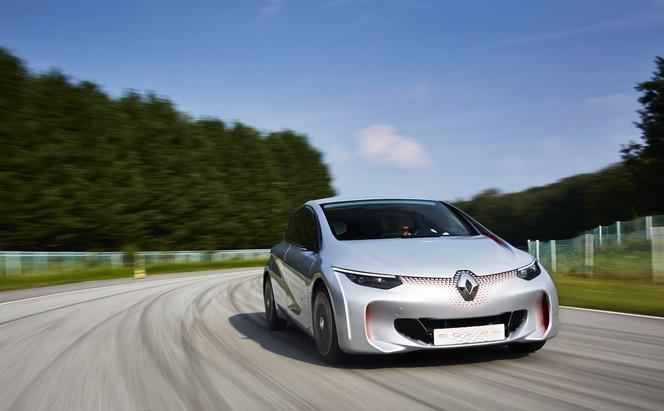 Mondial 2014 : Renault présente l'EOLAB, le concept à 1 l/100 km