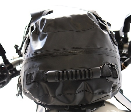 Pour vos bagages XXL: le Chaft Zulupack Bandit Tank.