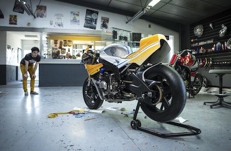 BMW Motorrad France: une BMW S 1000 RR selon Praem