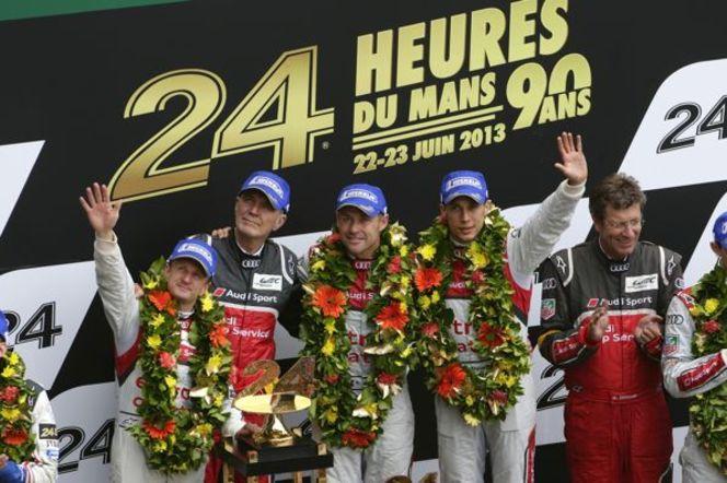 24 Heures du Mans 2013 - Audi vainqueur: et de 12!