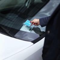 Un badge permet de déverouiller la voiture